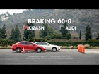 Suzuki Auto's Kizashi vs. Audi A4 and a Motorized Sofa