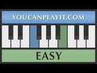 Tetris - Title Screen [Easy Piano Tutorial]