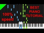 Nelly - Just A Dream easy piano tutorial
