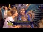 Bastidores do Carnaval 2013: Madrinha de bateria exibe 110 cm de bumbum