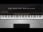 Super Mario Land - Boss [Easy Piano Tutorial]