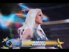 WWE '12 360 - Bella Twins versus Michelle McCool & Maryse - Entrances