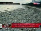 QRT: Sangkatutak na basura, patuloy na inaanod sa Manila Bay