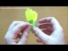 Origami Smiling Tulip (Riki Saito)