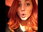 Lucy Collett Making Silly Faces