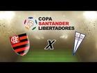 PES 2013 - Libertadores Semi Final - 1º Jogo - Flamengo x Universidad Católica .