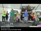 DDF and My Fitness Studio at Riverside County Fair and Date Festival 2013