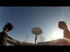 Best trick shot with boomerang in a basketball hoop. MUST SEE