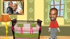 At Home With New Daddy Kanye West