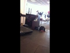 Gym Fail, guy takes anger out on medicine ball