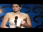 OSCAR : 2013 Oscar Ceremony Jennifer Lawrence Oscar Speech 2013 Best Actress flv