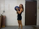 Medicine Ball Workout for Abs, Legs, and Shoulders