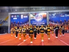 Cheerleading JungleCats All Star Level 4 Medium Front Angle