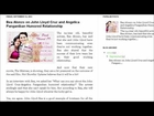 Bea Alonzo on John Lloyd Cruz and Angelica Panganiban Humored Relationship