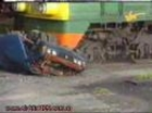 Fiat 125 vs Train Crash Test
