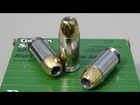 Remington Golden Saber .45 ACP 230 gr JHP SIM-TEST w/denim
