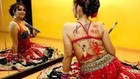 Tanisha Singh Gets Body Paint | Navratri Special Photo Shoot