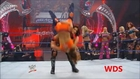 Mickie James Orange Thong Slip