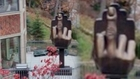 Man Builds Middle Finger Statue in Tribute to Cheating Ex-Wife
