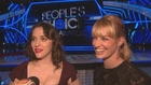 Kat Dennings & Beth Behrs Gear Up for the PCAs