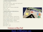 Selling Fresh Fullz credit cards detail