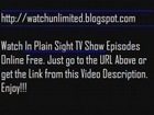 Watch In Plain Sight TV Show Episodes Online For Free