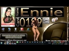 Card 0189 - Ennie - Harvard Dropout - Sexy Virtua Girl HD Germany VGHD Desktop Babes