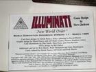 Jeux de cartes Illuminati 1995