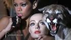 Rihanna Behind the scenes of album photoshoot!