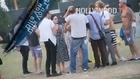 Alicia Silverstone, Dita Von Teese y David Faustino en Coachella
