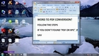 How to convert Word Document to PDF in office 2007-dailymotion